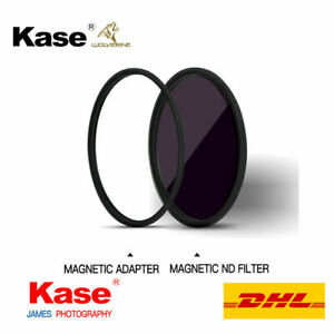 Kase Wolverine Magnetic ND Filter ND64000 77mm 82mm Stop adapter