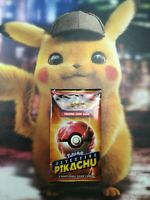 POKÉMON~DETECTIVE PIKACHU~MOVIE~ EXCLUSIVE~SM190~SEALED~ENG