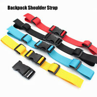 Nylon Sternum Strap Bag Parts Accessories Fixed Belt Straps Non-slip Buckles