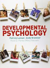 Developmental Psychology, Gauvain, Mary, Parke, Ross D, Bremner, Andy, Leman, Pa