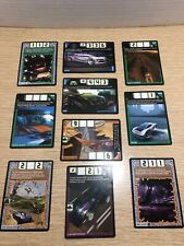 Hot Wheels Acceleracers 10 Card Lot - All Excellent Near Mint Condition! - Lot 1