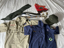 Cub Scout And Boy Scout Clothing Lot