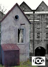 1/35 Scale  - Canal front Warehouse - Large ceramic diorama kit