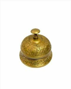 Nautical Antique Style Round Beautiful Desk Bell Hotel Bell
