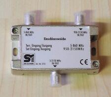 Einschleuseweiche - 950-2150/5-860 MHz