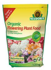 Neudorff Organic Flowering Plant Food with Mycorrhiza - 1.25 kg POUCH BAG