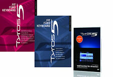 Zubehörset für Yamaha Tyros 5 Keyboard Lern DVD f- T5  Buch 1 und Buch 2 !