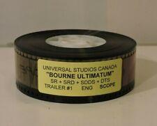 Universal Studios Canada Film Bourne Ultimatum Trailer 1