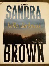 Hello, Darkness: A Sandra Brown Novel Read By Victor Stezak - Audiobook