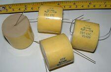 4 x 6UF 250vac haute qualité Axial Condensateur ICW sc461 Axial Condensateurs crossover