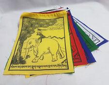 Four Harmonious Animals Friends Prayer Flag