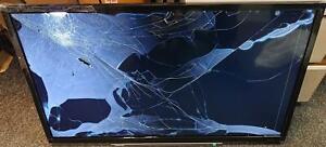 "TOSHIBA HD READY SMART TV 32"" (32WL3A63DB) NEW CONDITION - BROKEN SCREEN"