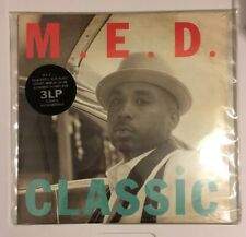Classic by MED (2011, Stones Throw) 3xLP LIMITED INSTRUMENTAL NM/NM MADLIB