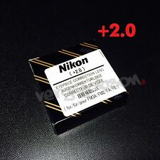 Nikon Diopter-Adjustment +2 Eyepiece Correction Lens for FM3A NewFM2 FA FE2 New