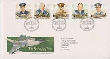 GB ROYAL MAIL FDC 1986 RAF STAMP SET BUREAU PMK