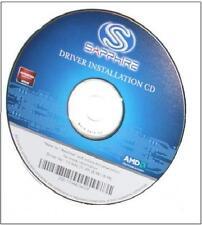 ORIGINALE Sapphire ATI Radeon Catalyst driver CD v13 r6 r7 r8 r9 250x 260x NUOVO