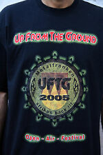 UFTG Up From The Ground - Open Air Festival  2005 Germany Metal Music T SHIRT XL