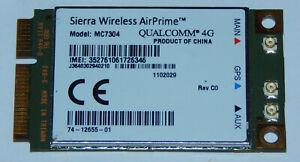 LTE Modem 4G HSDPA 3G Mini PCIe Karte Sierra Wireless AirPrime MC7304 Qualcomm