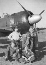 WW2 Photo WWII Japanese Zero Pilots A6M5  World War Two Japan IJN  / 2530