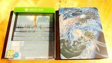 FINAL FANTASY XV XBOX ONE DELUXE EDITION STEELBOOK. PERFECT CONDITION