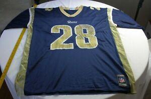 Marshall Faulk St. Louis Rams jersey XXL used vintage