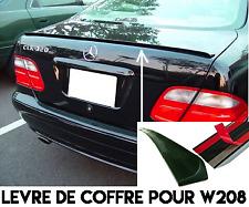 LEVRE LAME COFFRE SPOILER BECQUET pour MERCEDES W208 CAB CLK 1998-2003 320 230