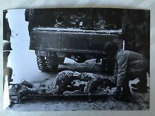 ww2 photo press  US Army , soldats morts    175