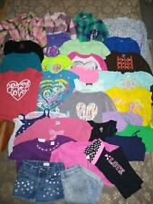 Lot Of Girls Size 6T Clothes..29 Items! Tops,shorts, dresses,pants, undershirts!