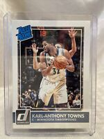 Karl-Anthony Towns Timberwolves 2015-16 Donruss Rated RookieRC #208