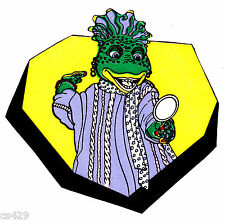 """4"""" DINOSAURS TV SHOW  SINCLAIR CHARACTER PREPASTED WALLPAPER BORDER CUT OUTS"""