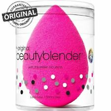 Original Beauty Blender Sponge in Pink Foundation Wedge Puff Make Up Beauty