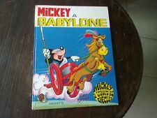 mickey à babylone EO (1970) mickey à travers les siècles walt disney bd ancienne