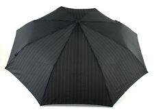 Knirps Business Line Fiber T2 Duomatic Taschenschirm Regenschirm Schwarz Stripes