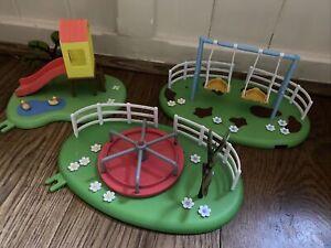 Peppa Pig park / playground Treehouse slide & Swings & Seesaw playset -lots List