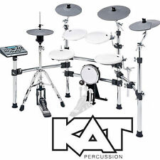 KAT Percussion KT4 Pro Electronic 5 Pce Drum Kit Dual Zone Pads and Cymbals