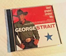 Latest Greatest Straitest Hits by George Strait (CD, Mar-2000, MCA Nashville)