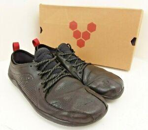 VivoBarefoot Men's Primus Lux WP M Black Leather Shoes Size 44 UK 9.5 300086-01