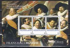 2013 4 Postsets 3012-B-1/4 Frans Hals - Complete set- Frans Halsmuseum!