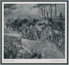 Hermann Junker Alpine Corps Artillery kemmelberg 4. Flanders Battle Ypres 1918