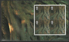 (TOT5) GB QEII Stamps TREASURY OF TREES Prestige Booklet Pane ex DX26 2000