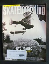 Transworld Skateboarding Magazine 2012 February Vans Independent Santa Cruz