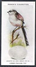 OGDENS-BRITISH BIRDS & THEIR EGGS-#46- LONG TAILED TIT