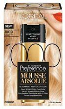 L'Oreal Paris Mousse 1000 Pure Lightest Blonde 3.2 Oz NEW