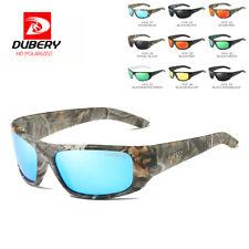 DUBERY Men Women Vintage Polarized Sunglasses Outdoor Driving Goggle Eyeglasses