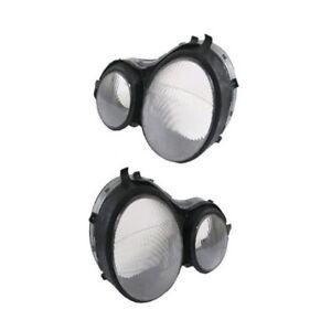 Lens Left & Right Hella Headlight Fits: Mercedes Benz W210 E300 E320 E420 E430