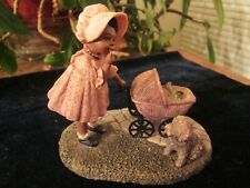 "Miss Martha'S Collection [All God'S Children] ""Tonya"" w/Cat & Dog Mint W/Box"