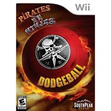Dodgeball Pirates vs Ninjas. Wii New and Sealed.