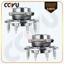 Pair New Front Wheel Bearing Hub Assembly For Chevrolet Siliverado 2500 3500 HD