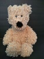 "Dan Dee Collectors Choice Teddy Bear  Plush  Curly 12"" Stuffed Animal fuzzy toy"