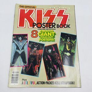 Vintage Original Kiss Poster Book #4 1979 Magazine Gene Simmons Paul Stanley